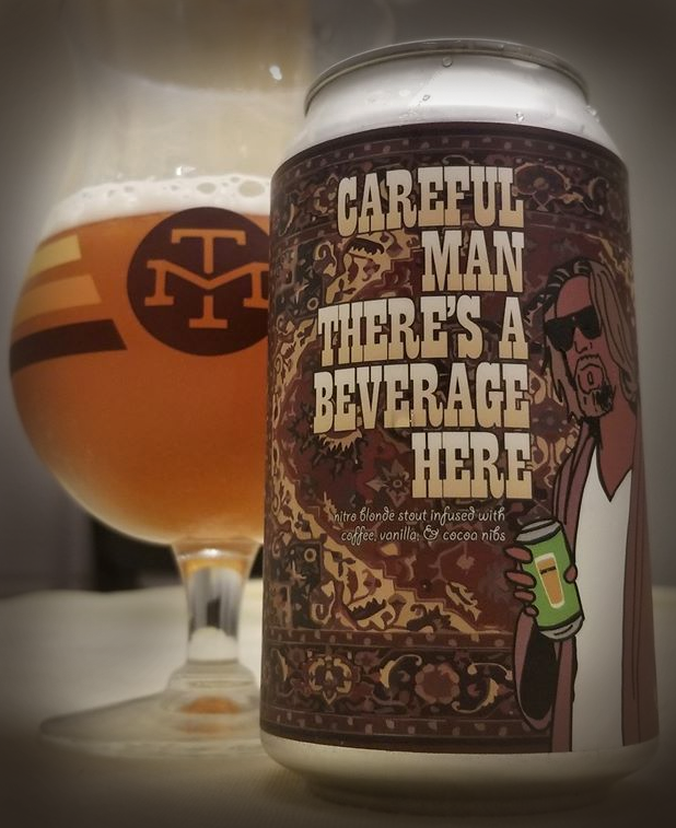 Just one of many Lebowski-themed beers we've discovered